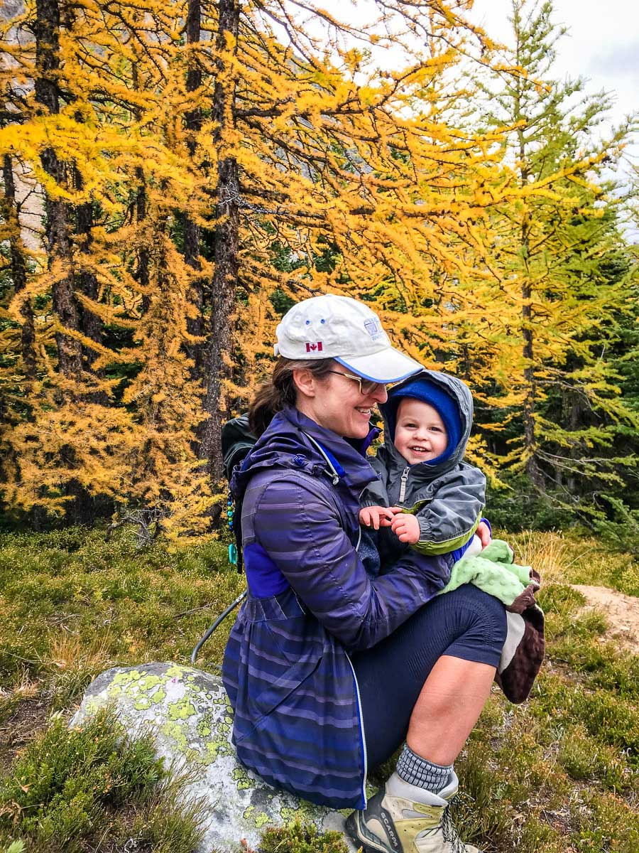 hiking with a baby tips