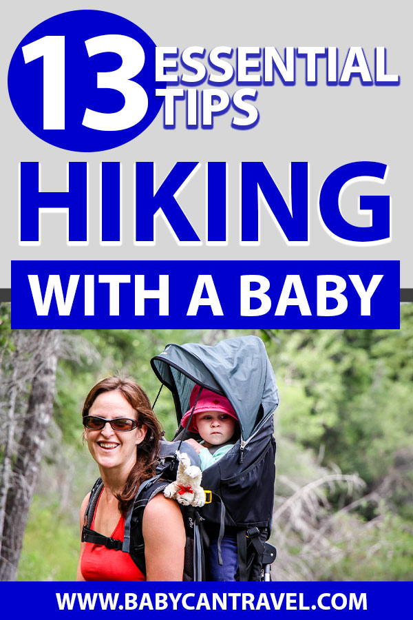 tips for hiking with a baby