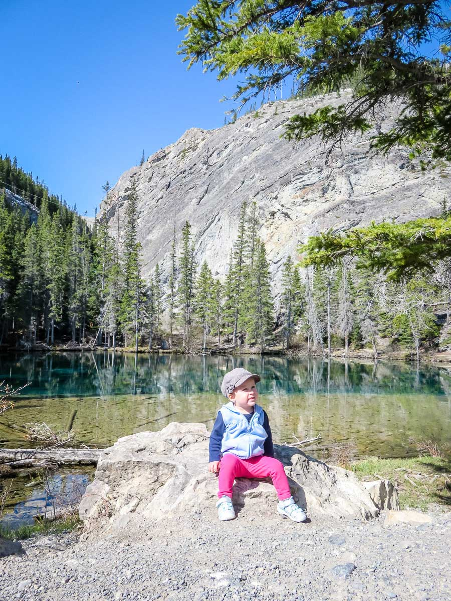hikes with a toddler