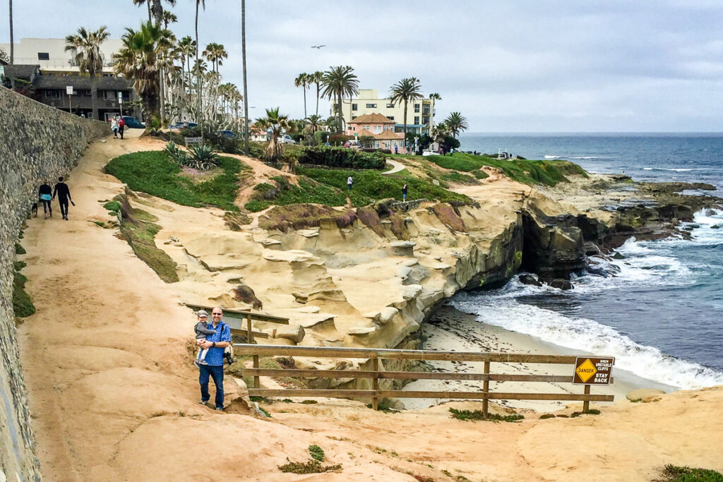 La Jolla with toddlers - San Diego kid friendly hikes
