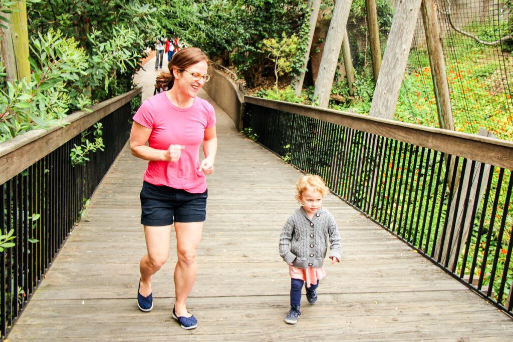 San Diego Zoo with toddlers