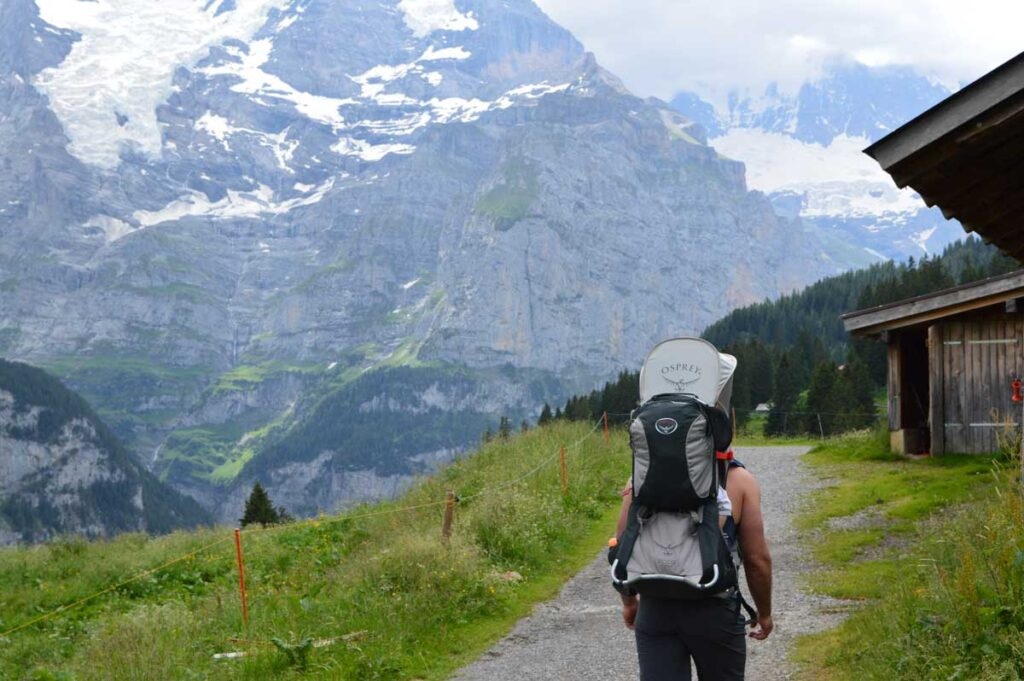 Lauter Hike in Switzerland with a baby or toddler