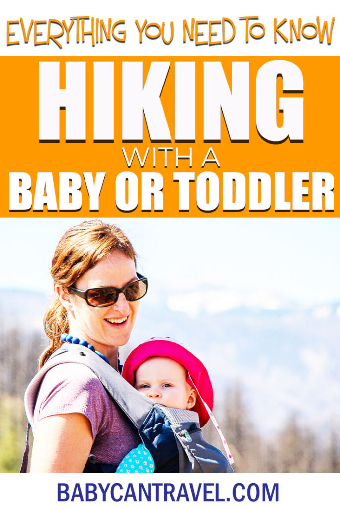 Resources for Hiking with a Baby or Toddler