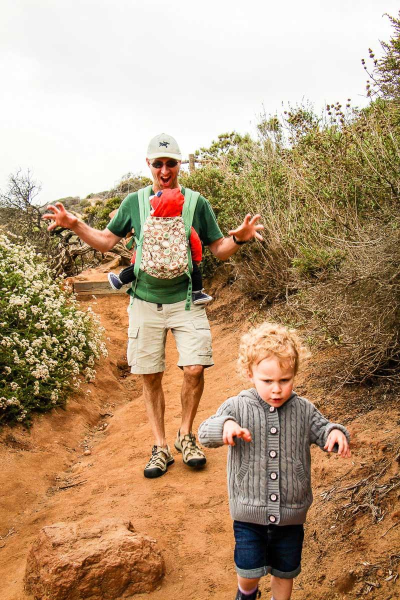 San Diego Kid Friendly Walks at Torrey Pines Natural Reserve