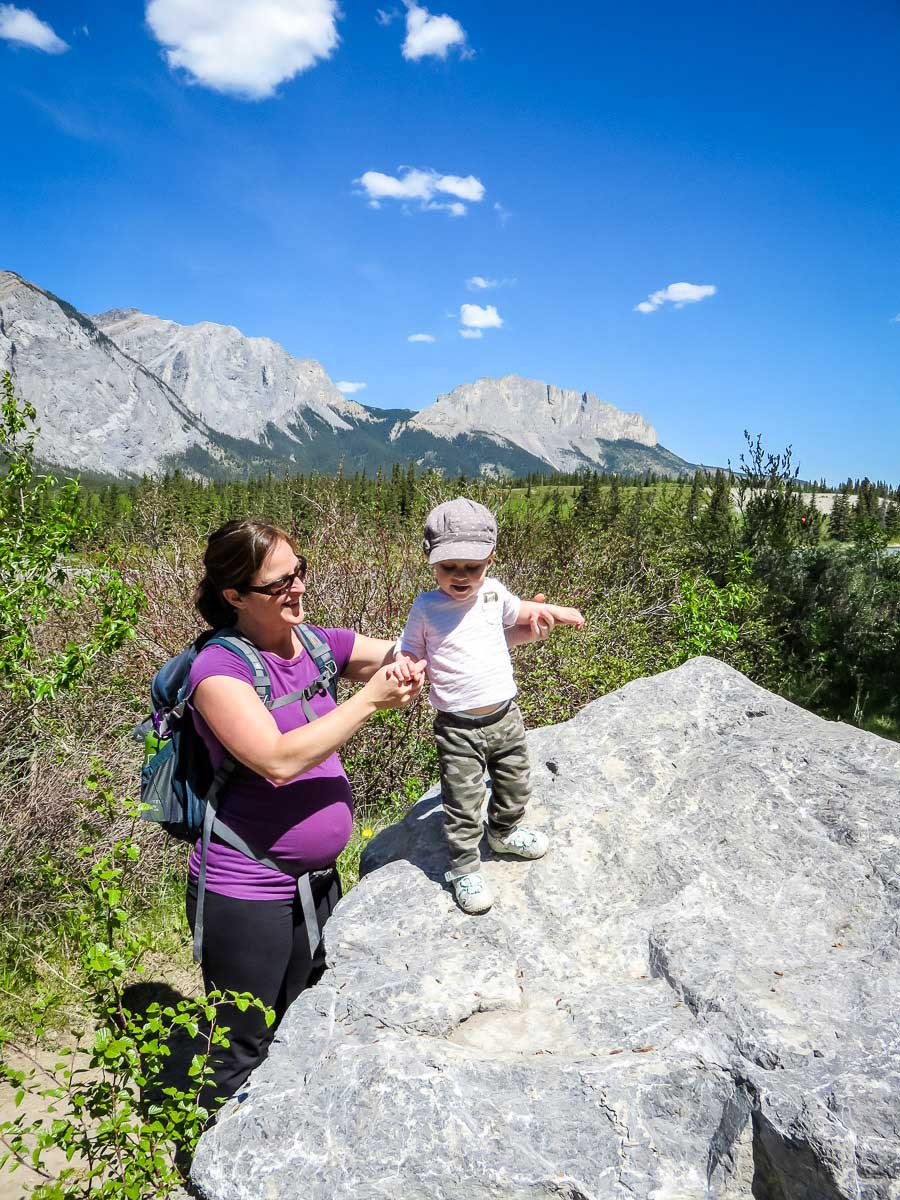 best tips for hiking with a toddler