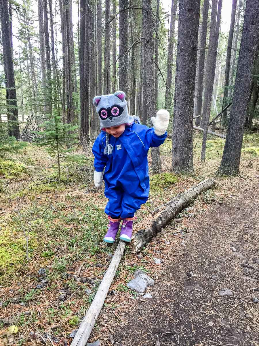rain suit for toddler hikes