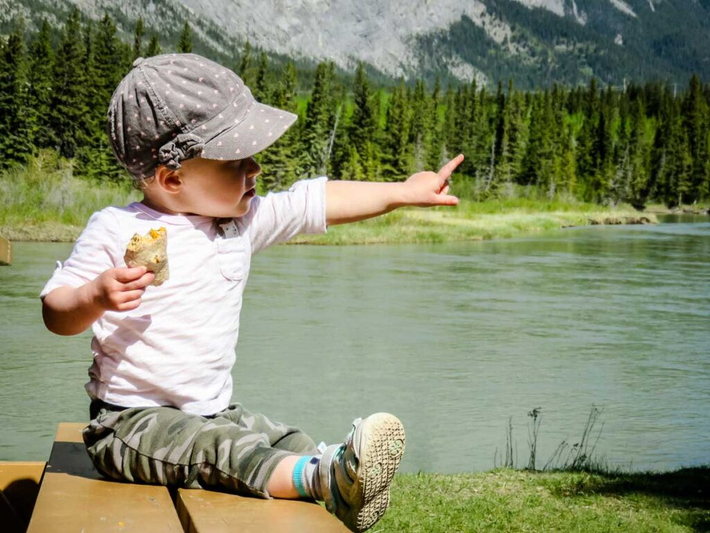 toddler hiking snack