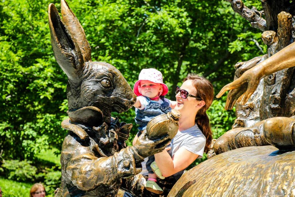 central park with baby - best things to do in nyc with toddlers and babies