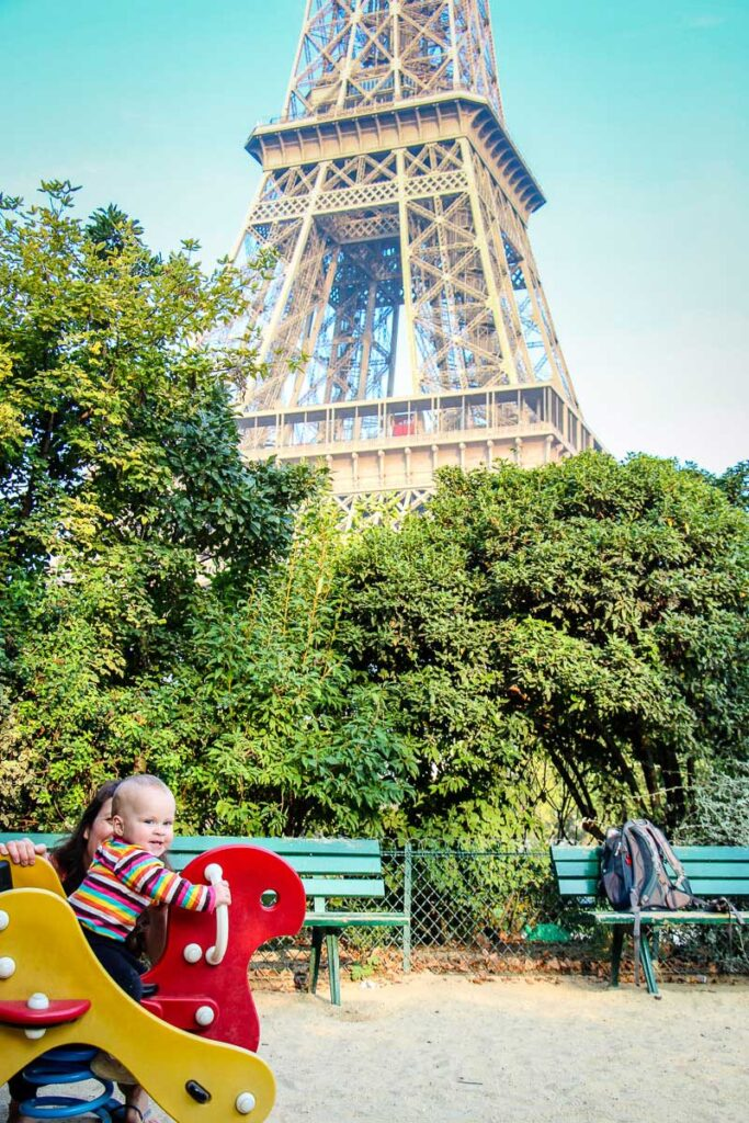 best paris playgrounds for toddlers