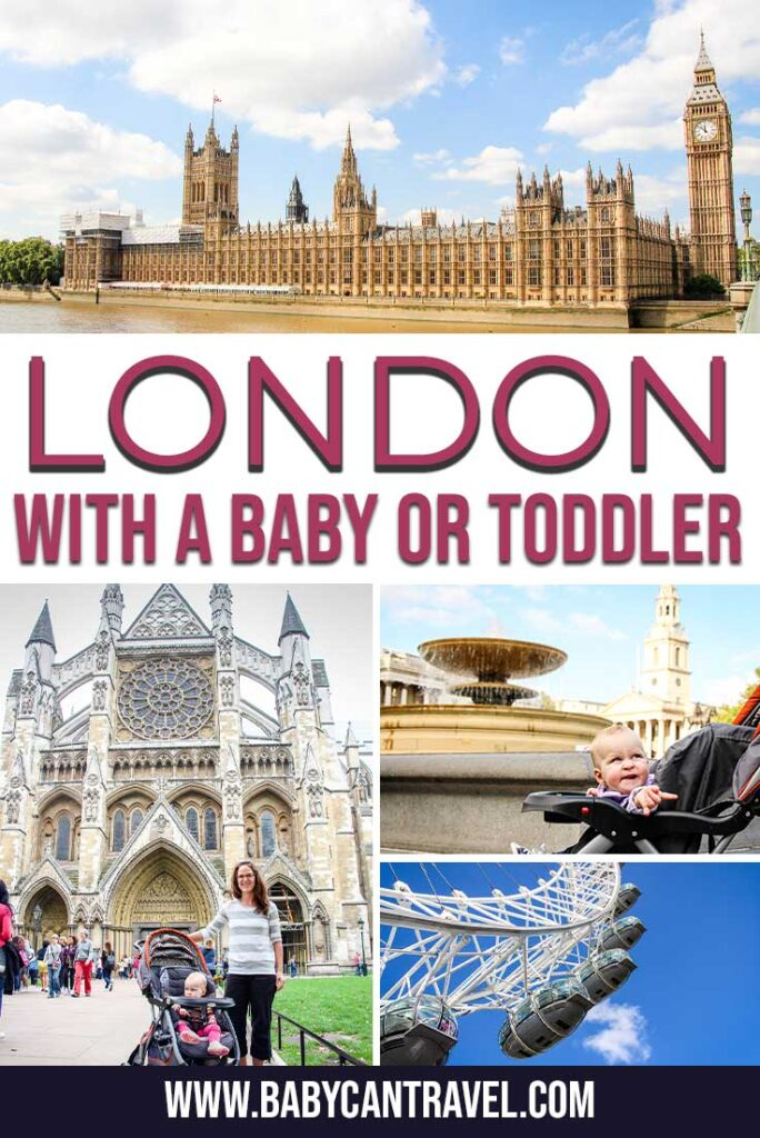 London with a Baby or Toddler