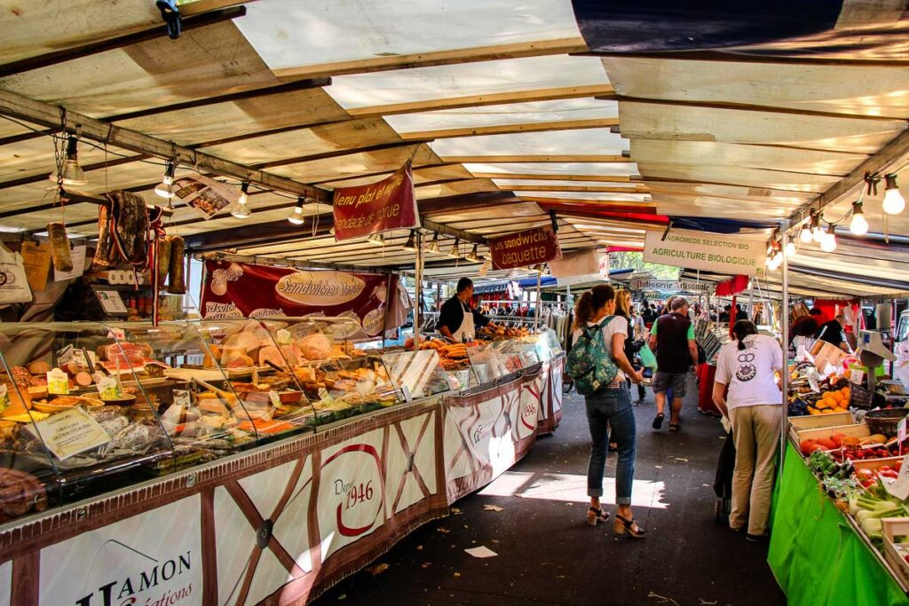 Market in paris