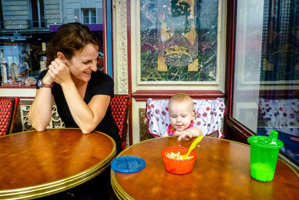 Where to eat in Paris with a toddler