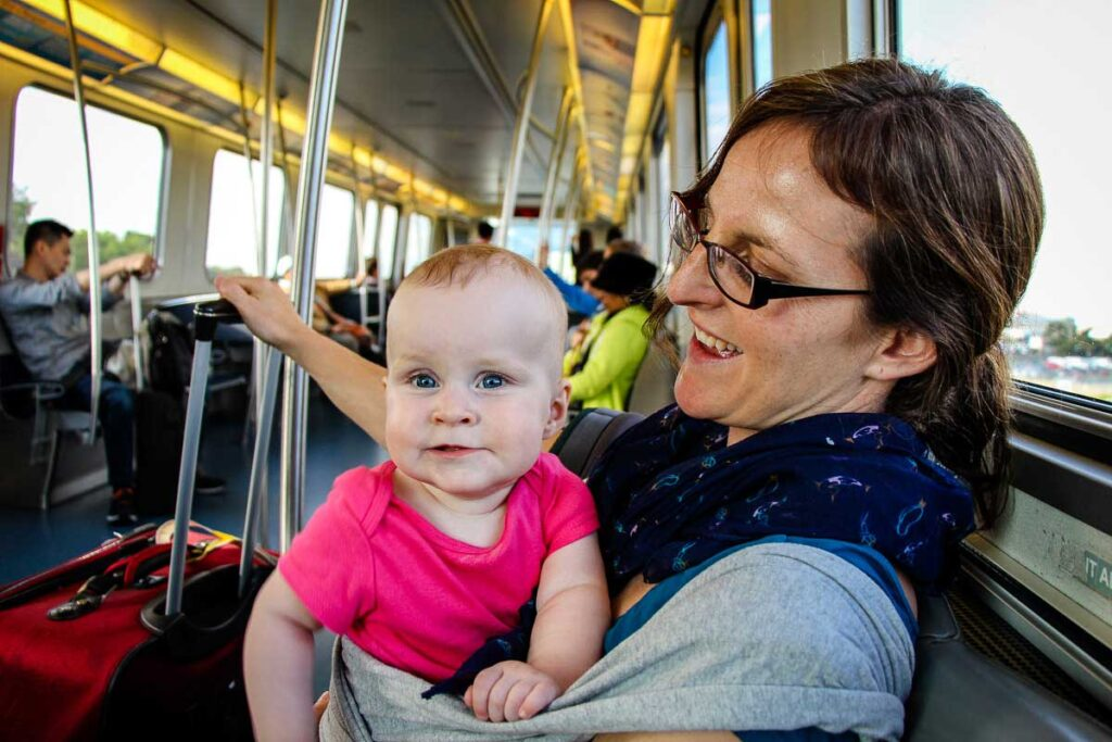 getting around New York City with a Baby
