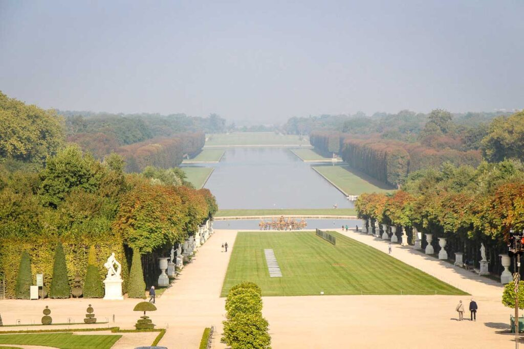 view of Jardins du Chateau de Versailles