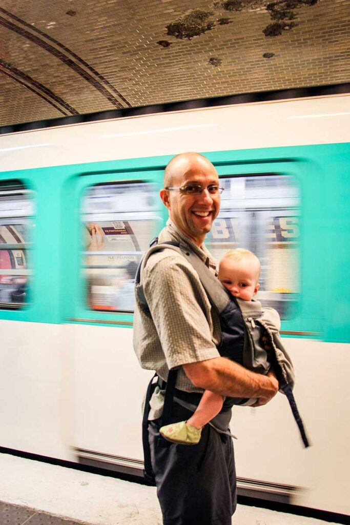 getting around Paris with a Baby