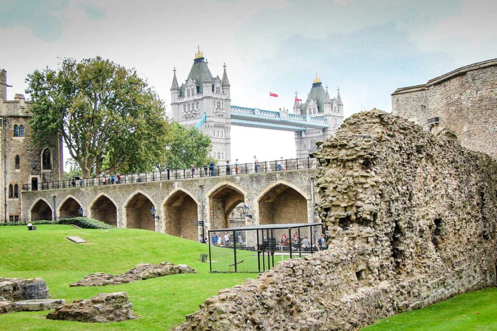 Tower of London in London