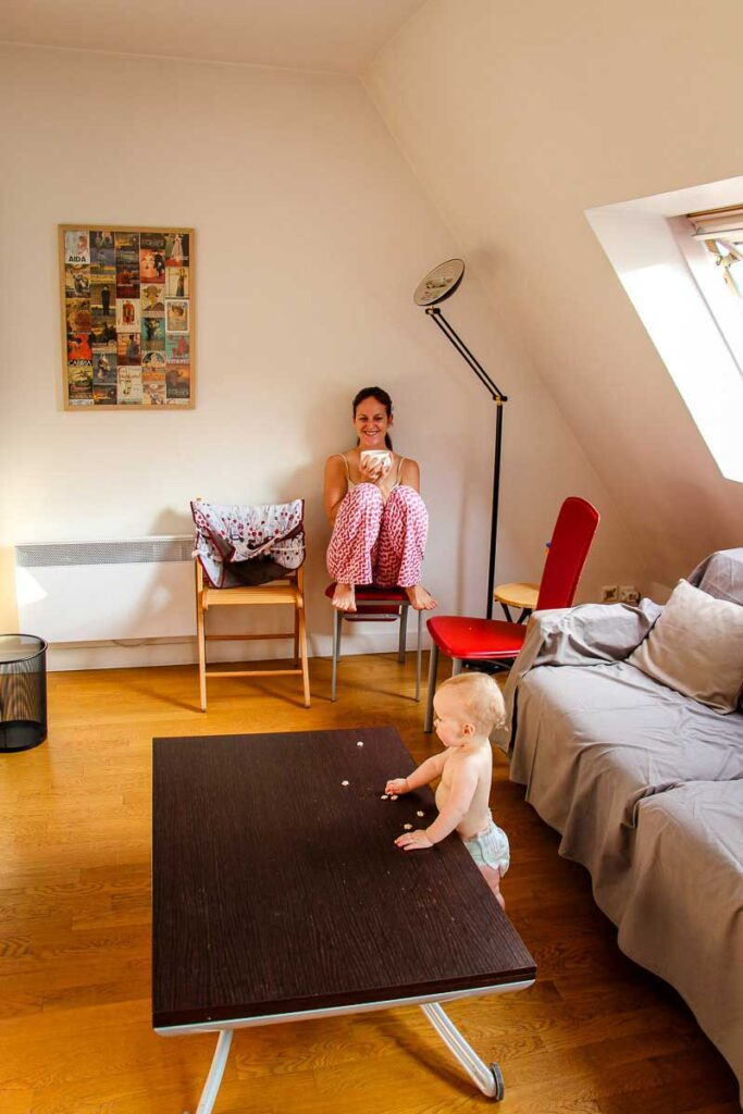 family friendly apartment rental in paris