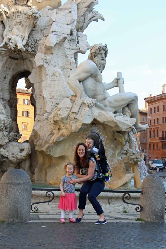 is Rome stroller friendly? We did not bring a stroller to Rome and used carriers instead