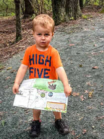 best hikes in Shenandoah with toddlers