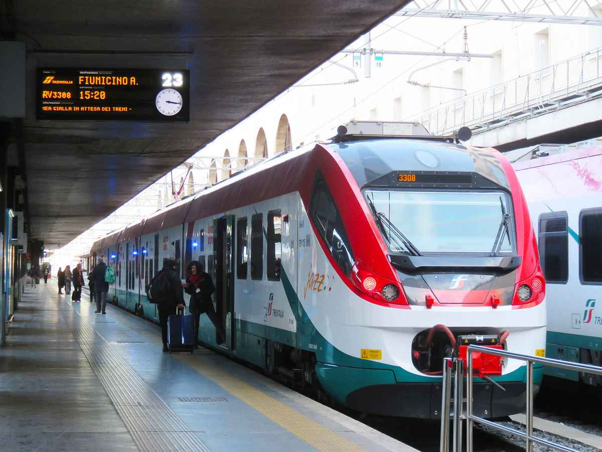 The Leonardo Express Rome Airport train is one of our top 5 Rome Airport Transportation Options