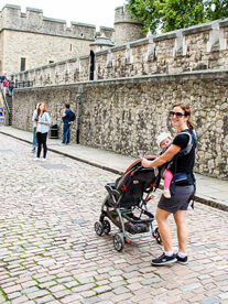 Travel with baby carrier or stroller