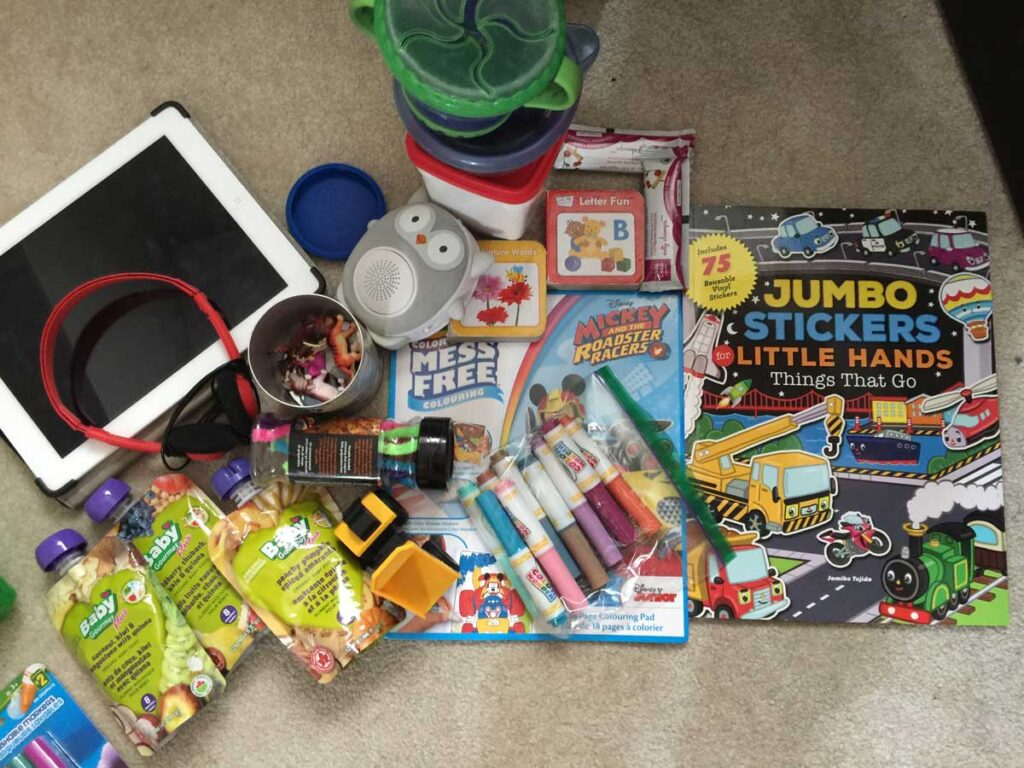 travel toys for toddlers in the car