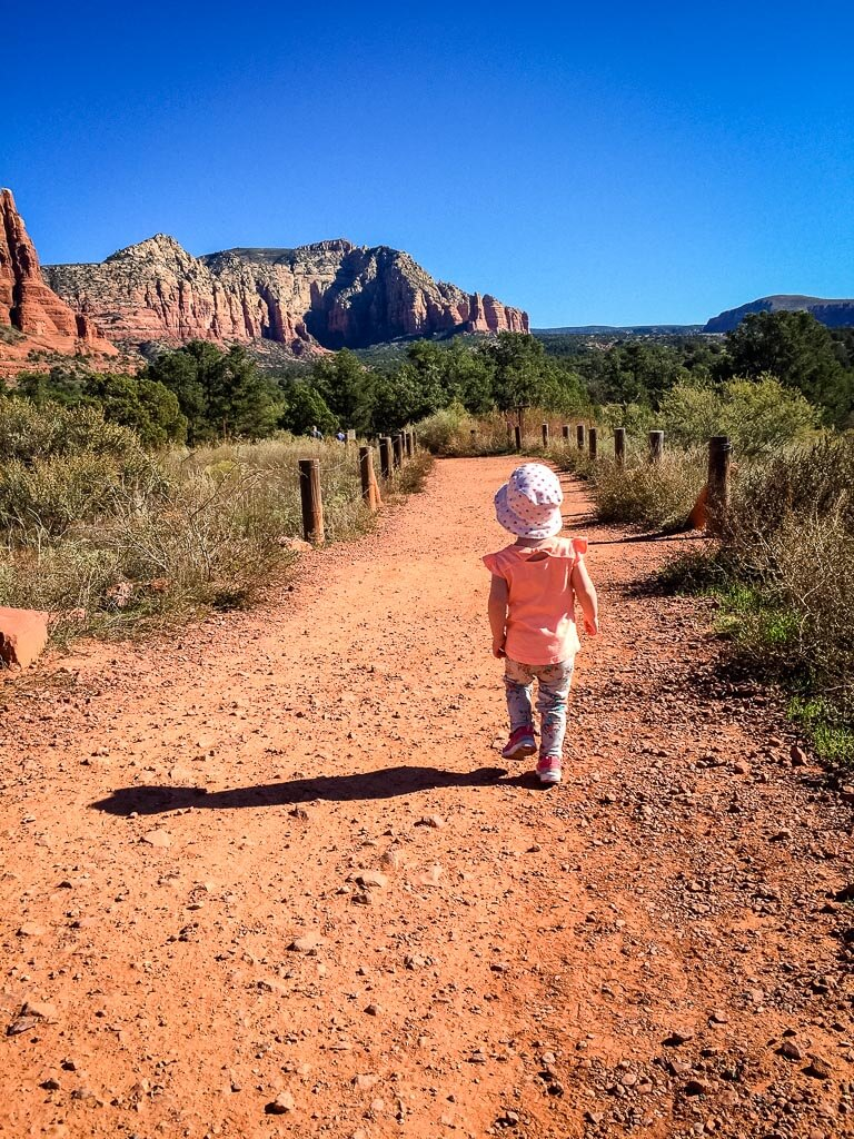 Bell Rock - stroller friendly hikes