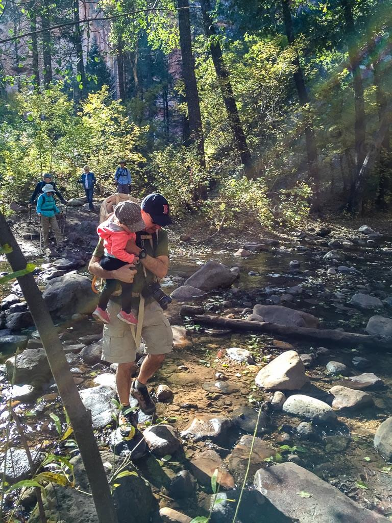 West Fork Trail is one of the best family hikes in Sedona