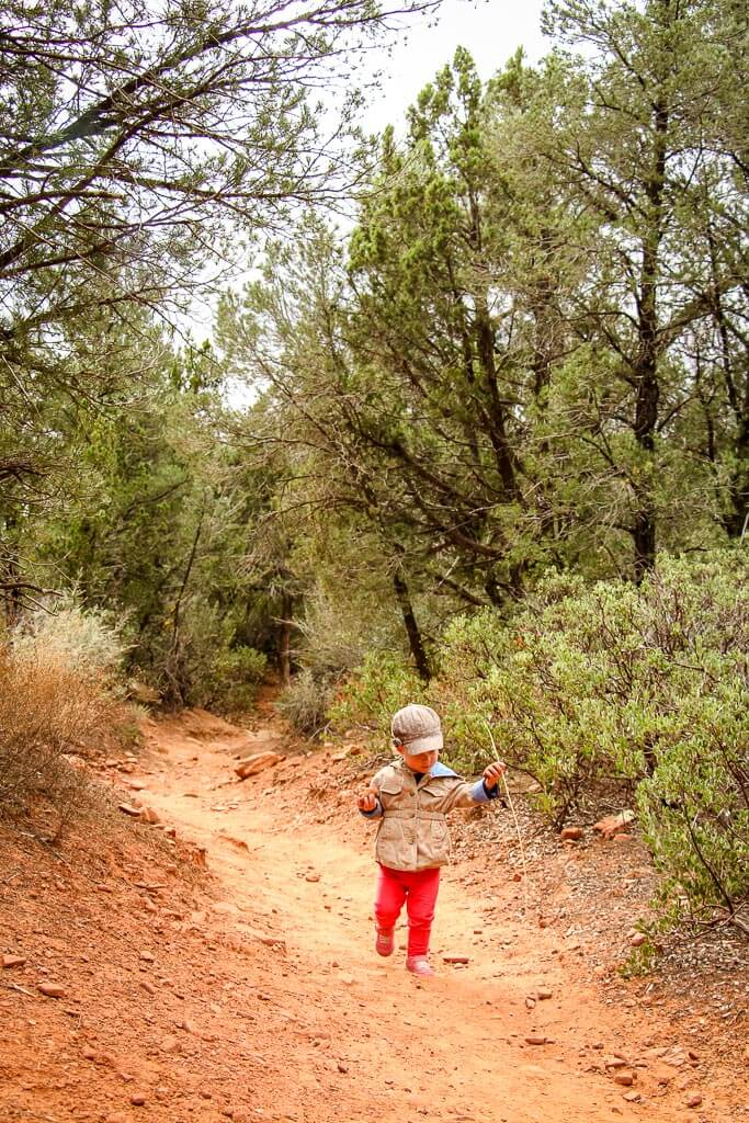 Fay Canyon Trail is one of the fun things to do in Sedona with kids