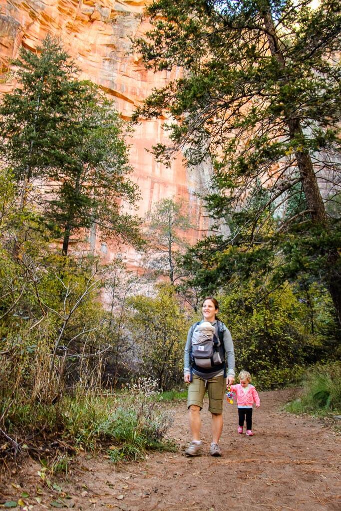 West Fork Trail a popular hike in Sedona