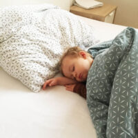 traveling toddler sleeping