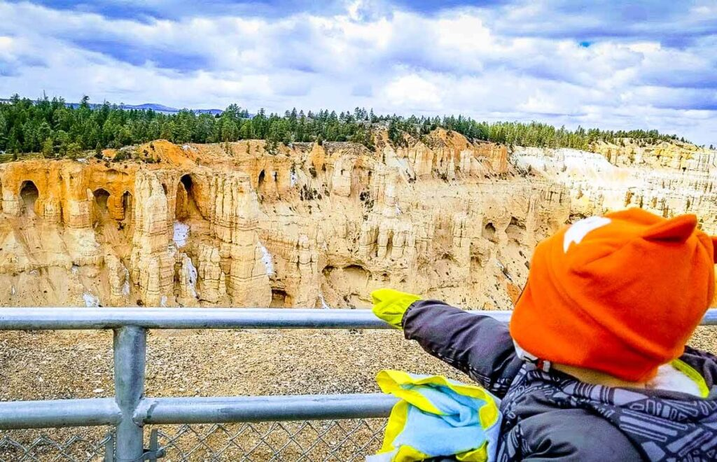 Bryce Canyon National Park with a toddler