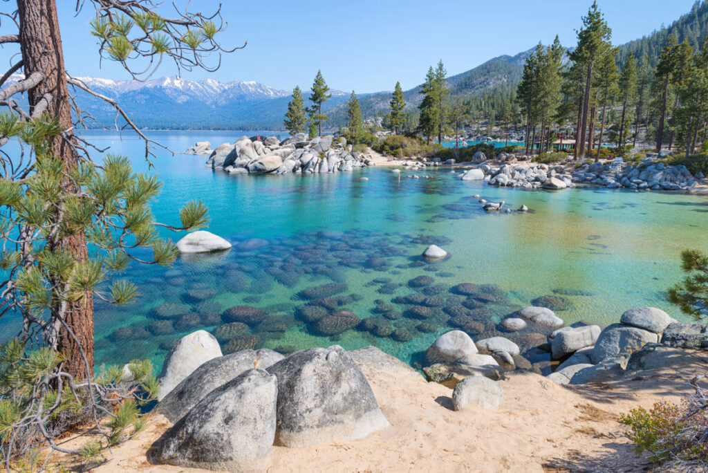Lake Tahoe Beaches with a Baby