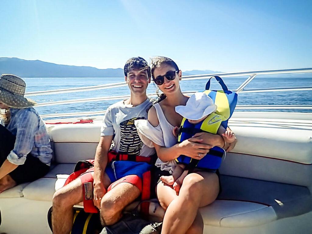 Parasailing Lake Tahoe - Family Activities