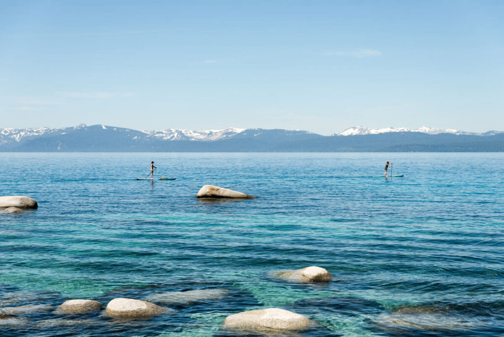 Stand Up Paddle Boarding Lake Tahoe