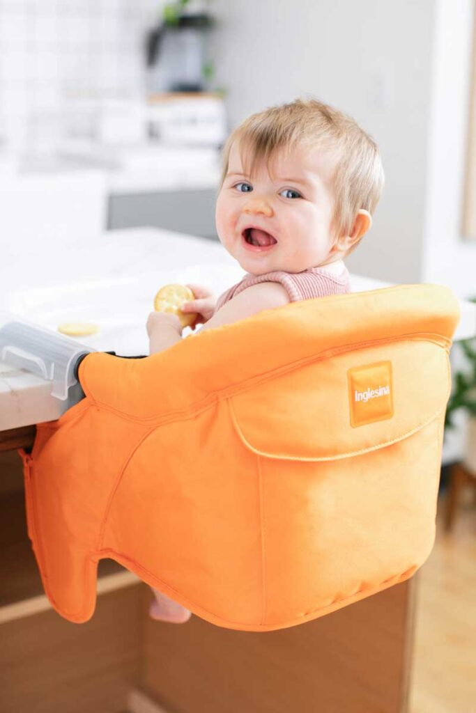 Inglesina Fast Table Chair - portable high chair for travel with baby