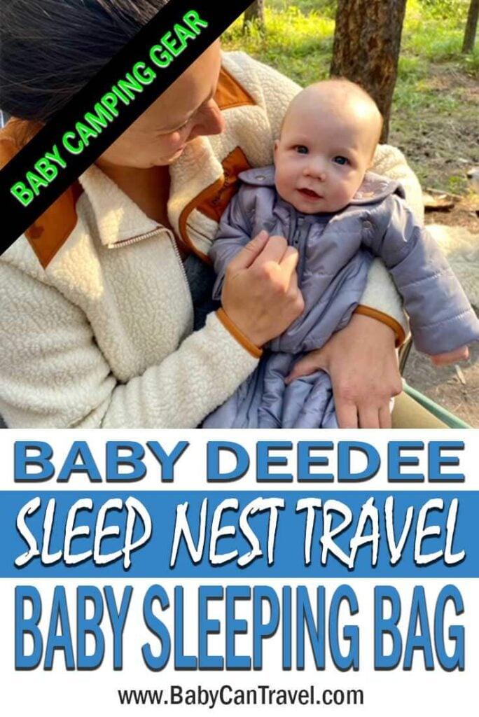 Baby Deedee Baby Camping Sleeping Bag Review
