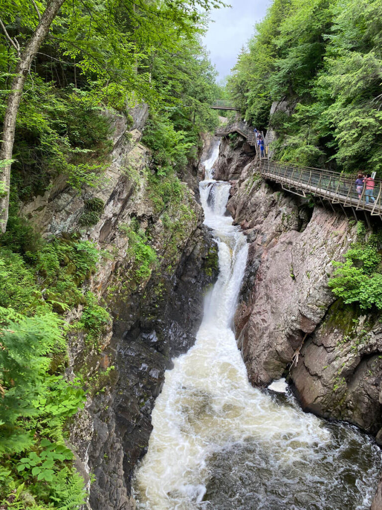 High Falls Gorge - best family activities Lake Placid