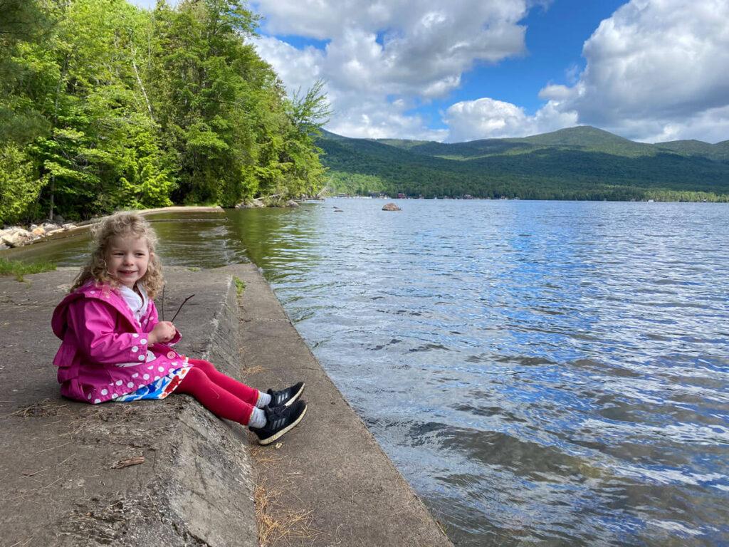 kid friendly hikes in Lake Placid - Peninsula Trails
