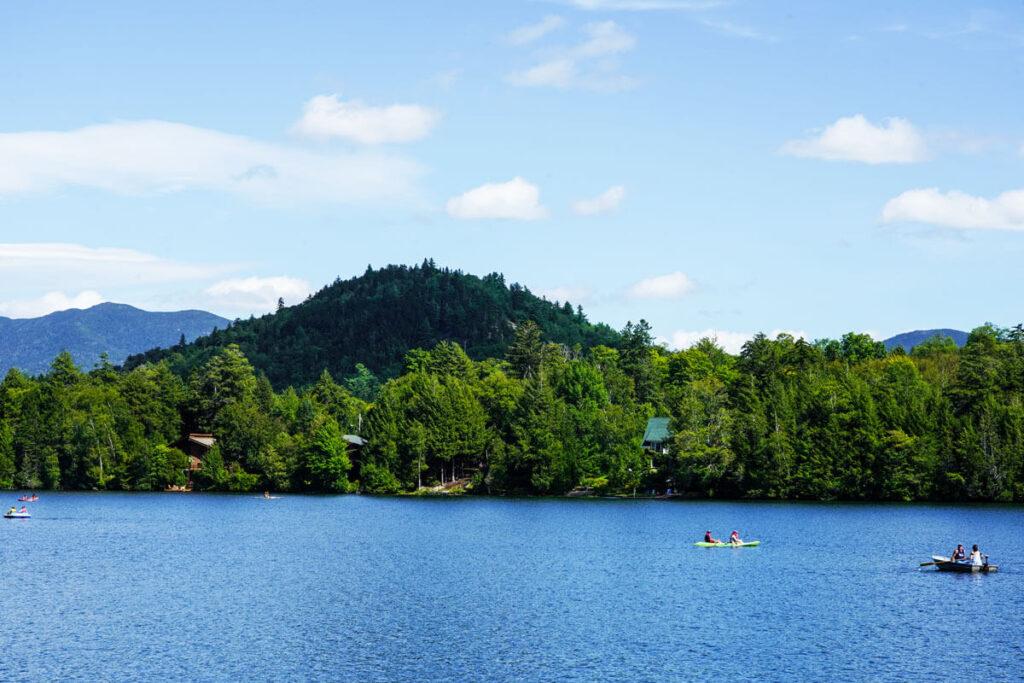 Mirror Lake - Lake Placid family vacation