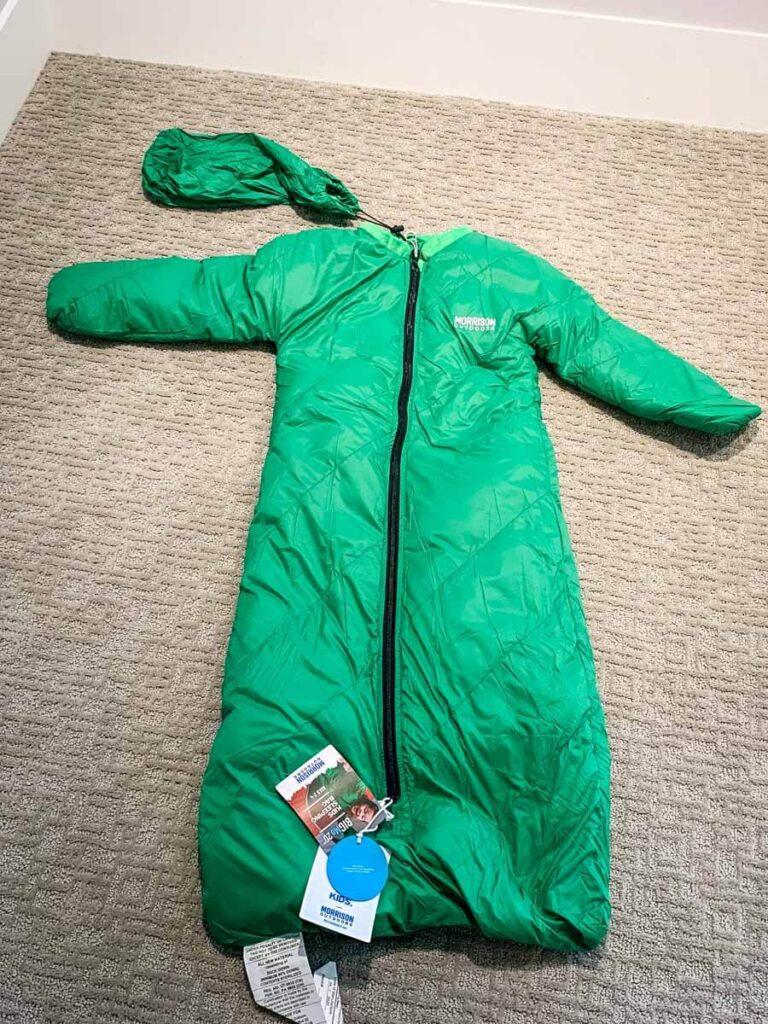 Morrison Outdoors Down Filled Toddler Sleeping Bag - Big Mo 20